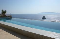 Stupenda villa a picco sul mare – Panoramica – Argentario