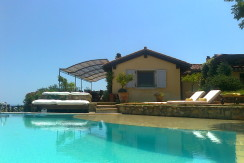 Elegante villa con piscina e stupendo panorama Porto Ercole 12 ospiti