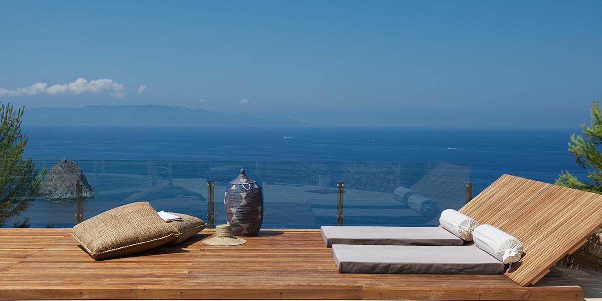 Vendita stupenda villa con piscina, vista mozzafiato a Porto S. Stefano Argentario design moderno