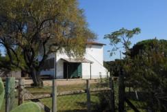 Casale in zona panoramica con progetto per costruire