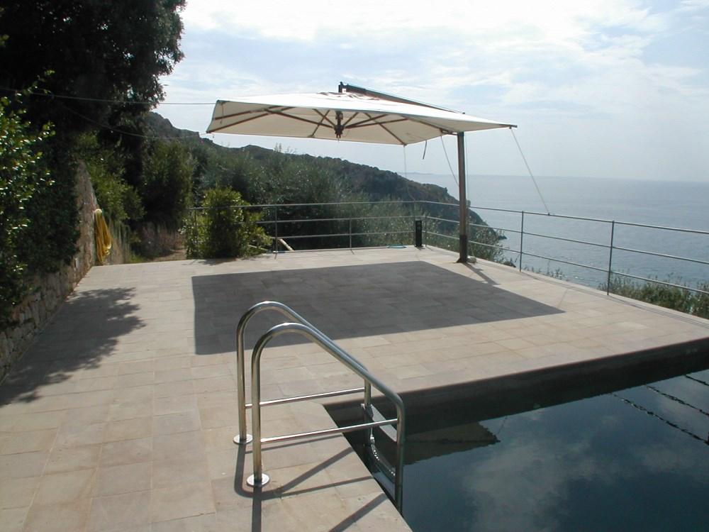 Argentario Villa A Picco Su Una Baia Con Piscina Ed