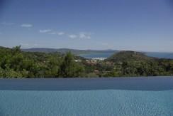 Elegante villa con piscina, vista mare, sulla collina di Porto Ercole. 10 persone