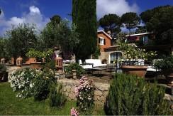 Elegante villa con piscina a Porto Ercole, stupenda vista mare, 14/16 persone