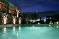 Elegante villa con piscina e stupenda vista mare. Porto S. Stefano. 10/12 ospiti