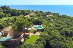 Elegante villa con piscina, stupenda vista mare in Ansedonia Argentario 13/15 ospiti