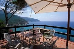 Elegante villa con discesa diretta sul mare. Stupenda vista. Argentario. 14 ospiti