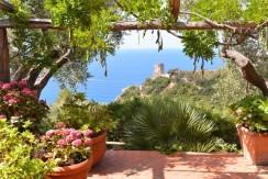 Villa con  piscina, stupenda vista mare. Porto S. Stefano Argentario. 7/9 ospiti