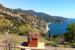Villa – Casa di campagna con discesa a mare. Stupenda vista mare. 5/7 posti letto. Porto S. Stefano Argentario