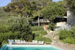 Villa con piscina, mare privato e campo da tennis. Eslusiva ed elegante. Porto S. Stefano. 12 ospiti