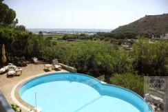 Villa con piscina e vista sul mare. Porto Ercole