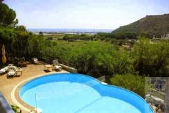 Vendita villa con piscina e vista sul mare. Porto Ercole