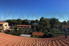 Luminoso appartamento terrazzo vivibile panoramico. A piedi al mare. Porto Ercole