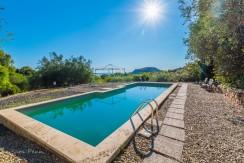 Vendita villa con piscina e vista mare nella campagna di Porto Ercole Argentario