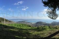 Vendita Porzione di casale vista mare terreno con vigneto e olivi Porto Ercole, Argentario.