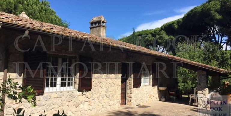villa in pietra in Feniglia 2a