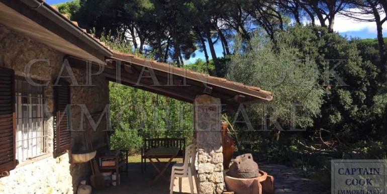 villa in pietra in Feniglia 3b