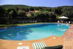Elegante villa con magnifica piscina e vista mare. Porto S. Stefano Argentario 10/11 posti letto