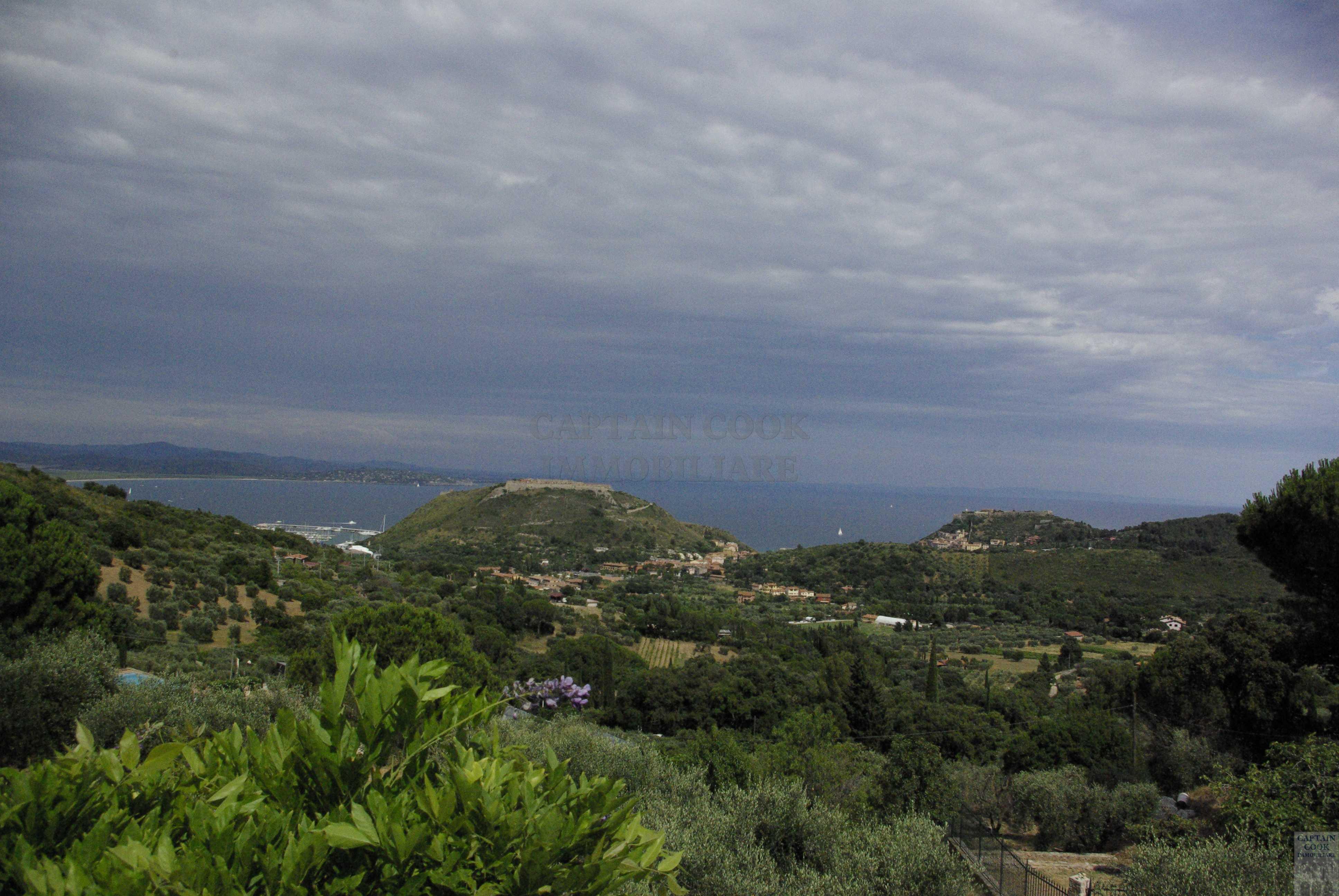 Villa con stupenda vista in collina Porto Ercole Argentario 7/8 ospiti