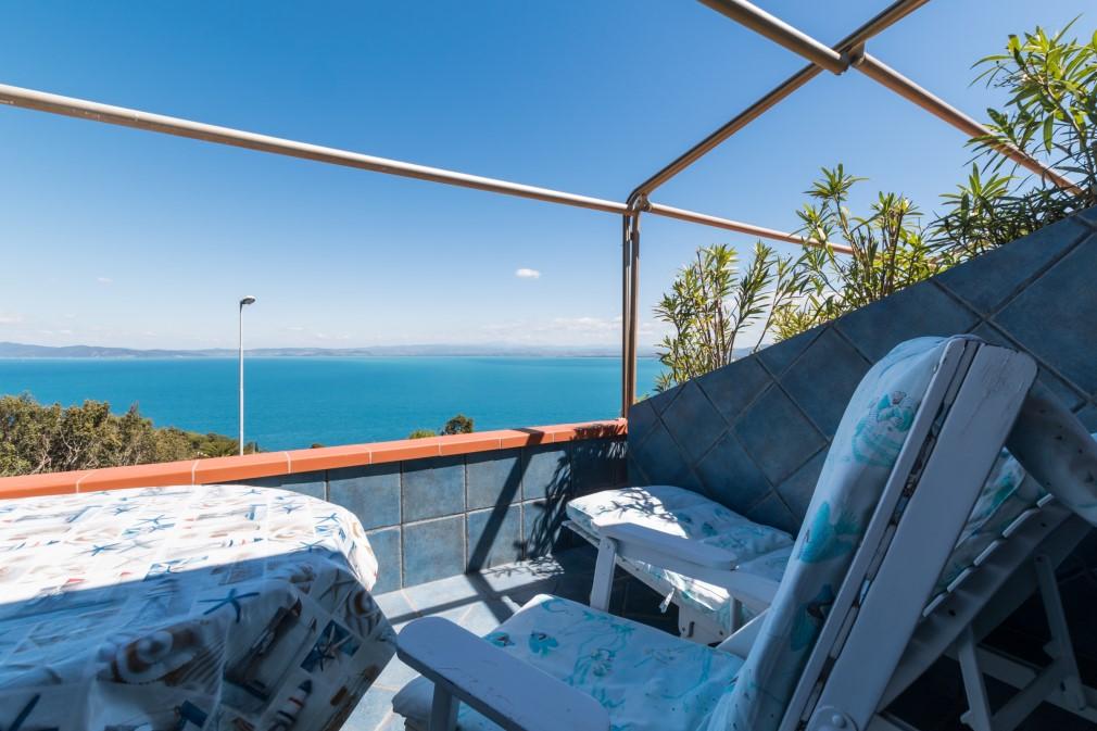 Grazioso villino vista mare Porto Santo Stefano