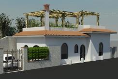Vendita rustico con progetto approvato per villino 84mq, Porto Santo Stefano
