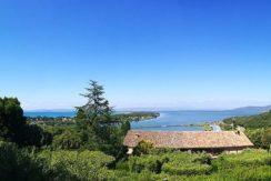 Affitto vacanze villino con stupenda vista mare e giardino, Argentario. 8 posti letto.