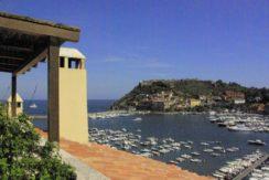 Affitto attico sul porto, con splendida vista sul mare. Porto Ercole