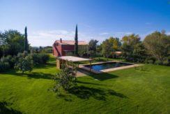 Vendita villa con piscina classe energetica A4 a Magliano in Toscana