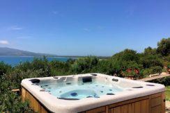 Affitto villa con giardino, Jacuzzi e vista panoramica, Ansedonia