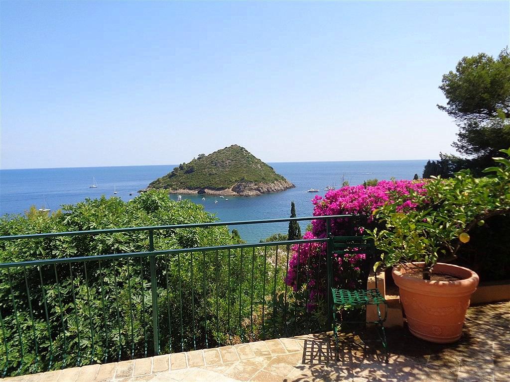 """Affitto """"Casa Elisa"""", vista panoramica, 8 posti letto, Porto Ercole"""