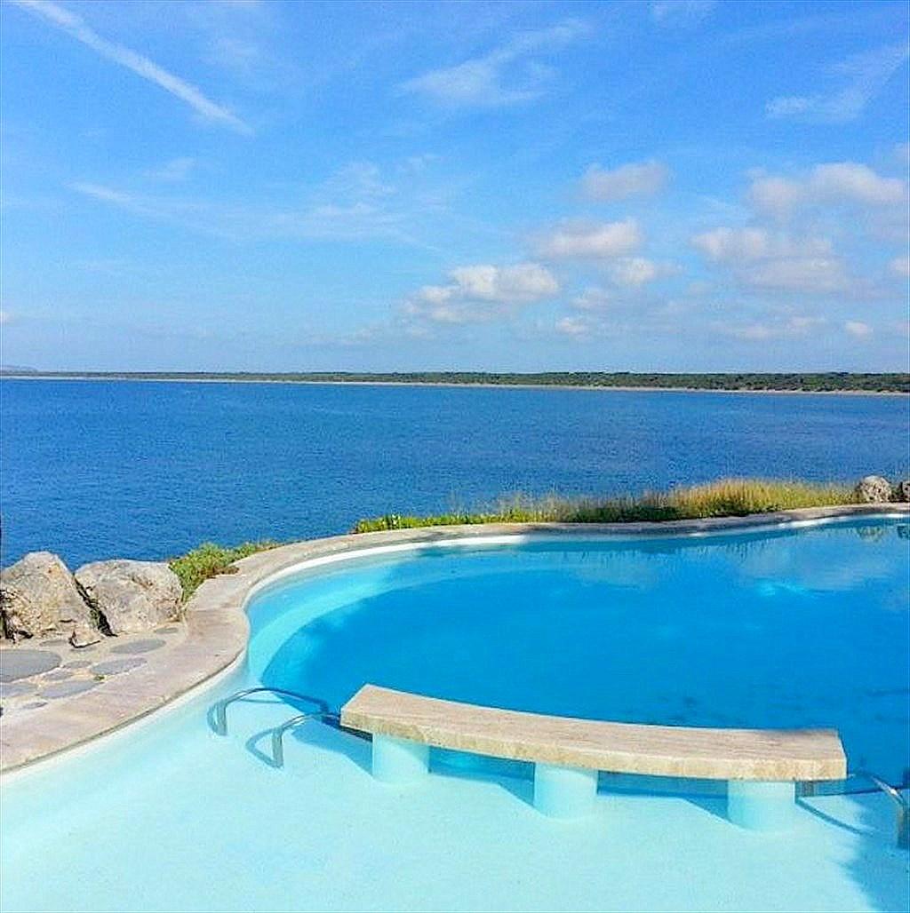 """Affitto """"Villa Oleandro"""", giardino, piscina con vista panoramica, discesa diretta al mare, Ansedonia"""