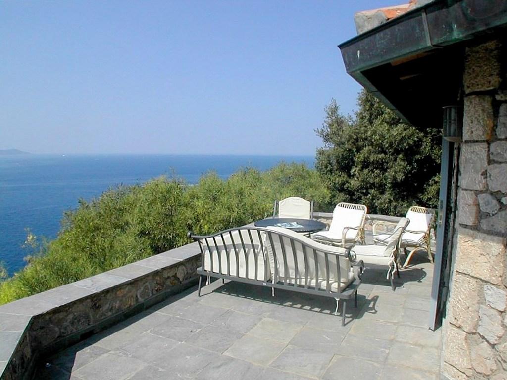 Affitto villa Ottagono, discesa privata al mare, piscina, stupenda vista mare Monte Argentario