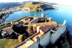 Vendita pezzo unico nella fortezza spagnola, Porto Ercole