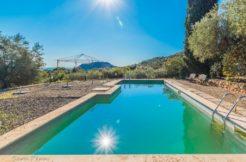 Affitto villa con piscina e vista mare nella campagna di Porto Ercole