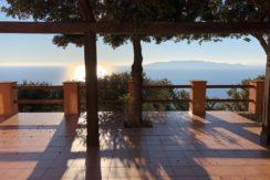 Graziosa villa con una spettacolare vista mare.