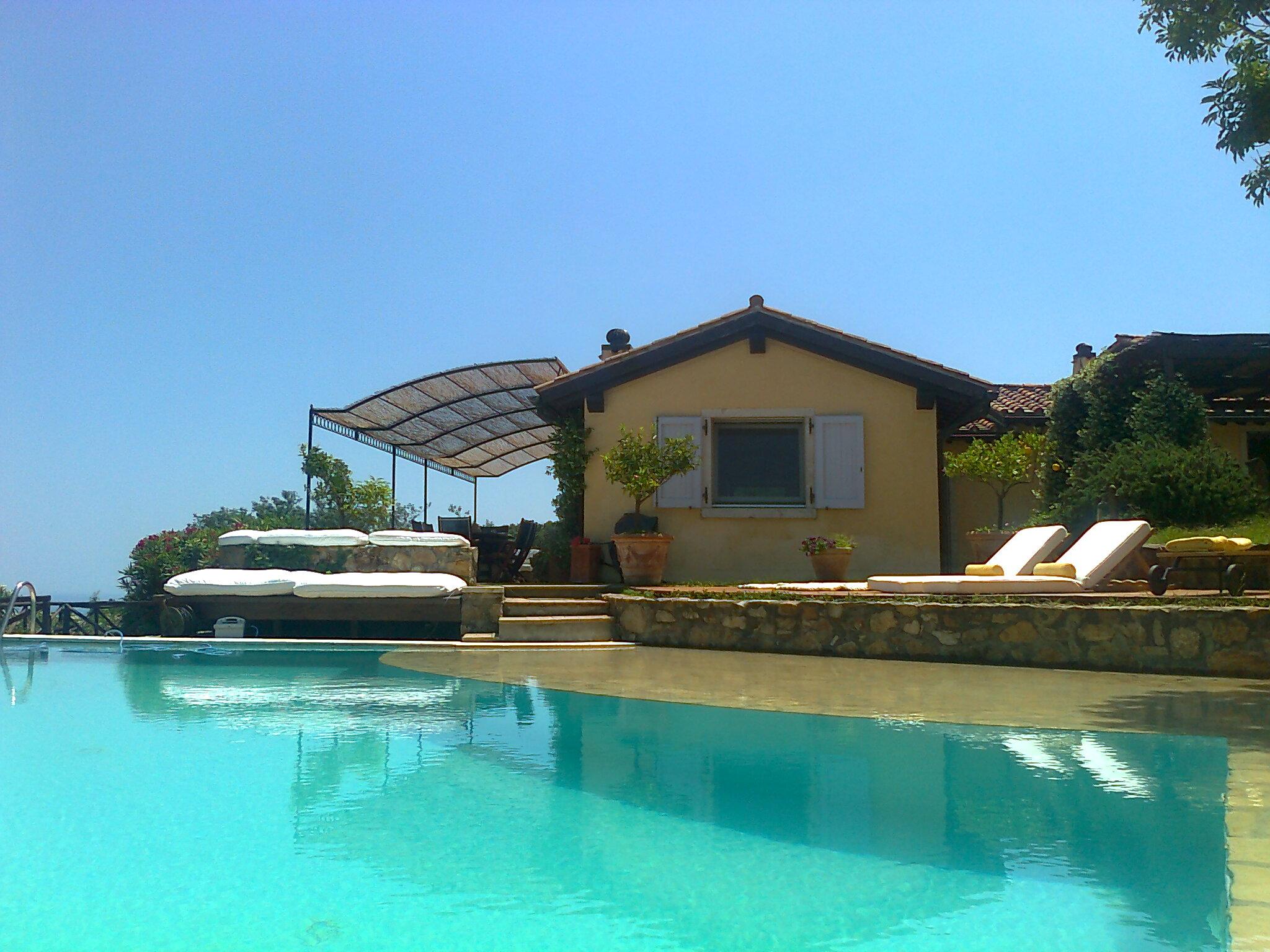 """Affitto """"Villa Letizia"""", elegante villa con piscina e stupendo panorama Porto Ercole 12 ospiti"""
