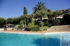 Vendita delizioso appartamento con piscina, stupenda vista mare e terrazzo ad Ansedonia-Argentario
