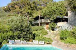 """Affitto villa """"Cala del Bove"""", con piscina, mare privato e campo da tennis. Eslusiva ed elegante. Porto S. Stefano-Argentario 14/16 ospiti"""