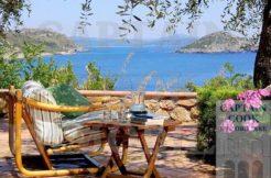 """Affitto """"Villa il Carrubo"""", villa sulla spiaggia con stupenda vista mare. Massima tranquillità e privacy. Porto Ercole. 10-12 ospiti"""