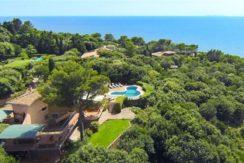 Vendita elegante villa con piscina, stupenda vista mare in Ansedonia Argentario