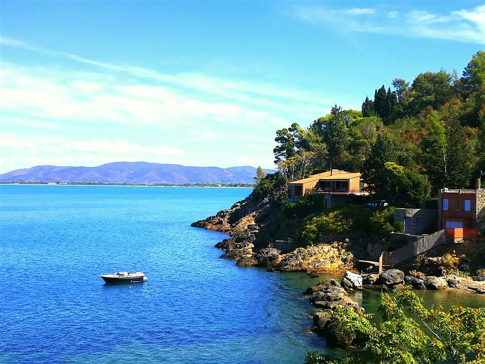 Affitto villa sul mare, con spiaggia privata, vista stupenda. 11/13 persone. Porto S. Stefano