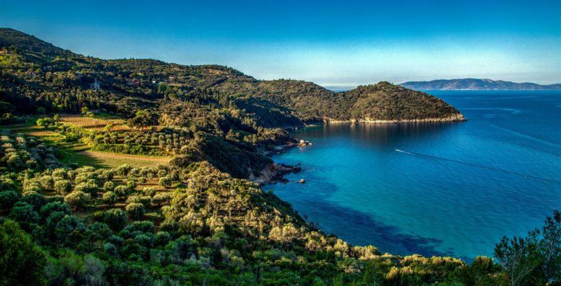 """Affitto """"Villa le Sughere"""", elegante villa con piscina, vista mare, sulla collina di Porto Ercole. 10 persone"""