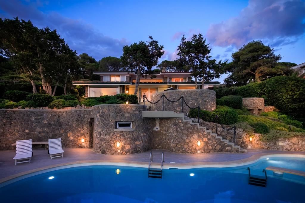 Affitto villa Oleandro con piscina, vista mare e discesa a ...